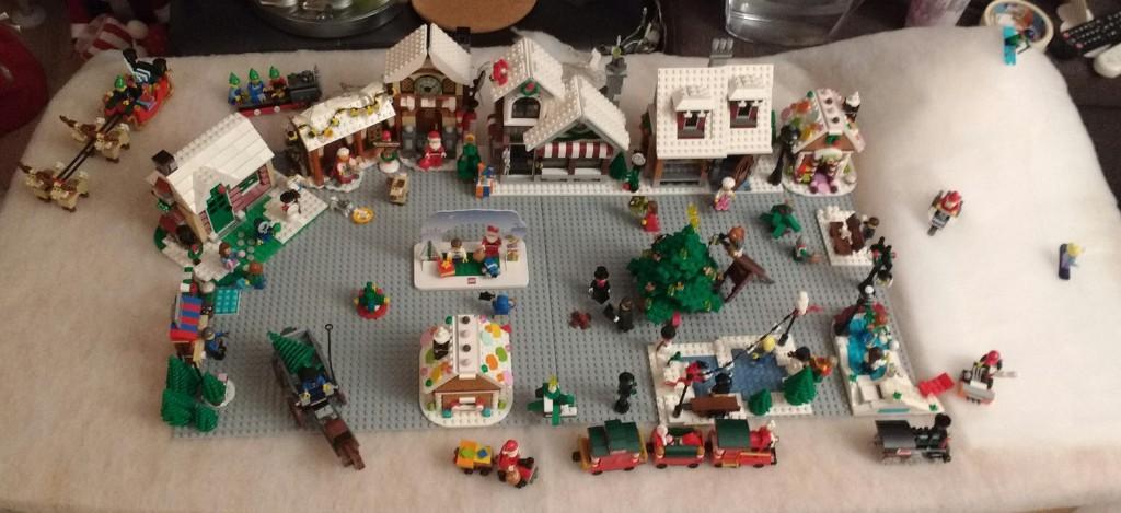 LEGO Kerstdorp van Jessica de Brandt