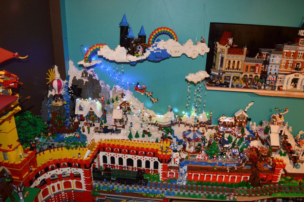 LEGO Kerstdorp van Inzo
