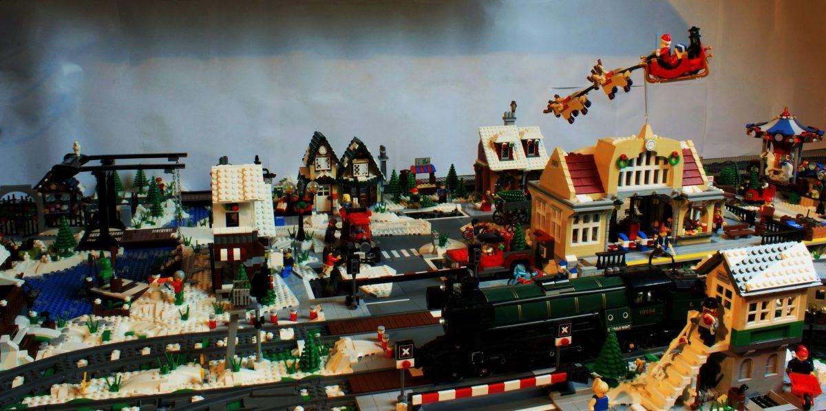 LEGO Kerstdorp van Jörgen Rubingh