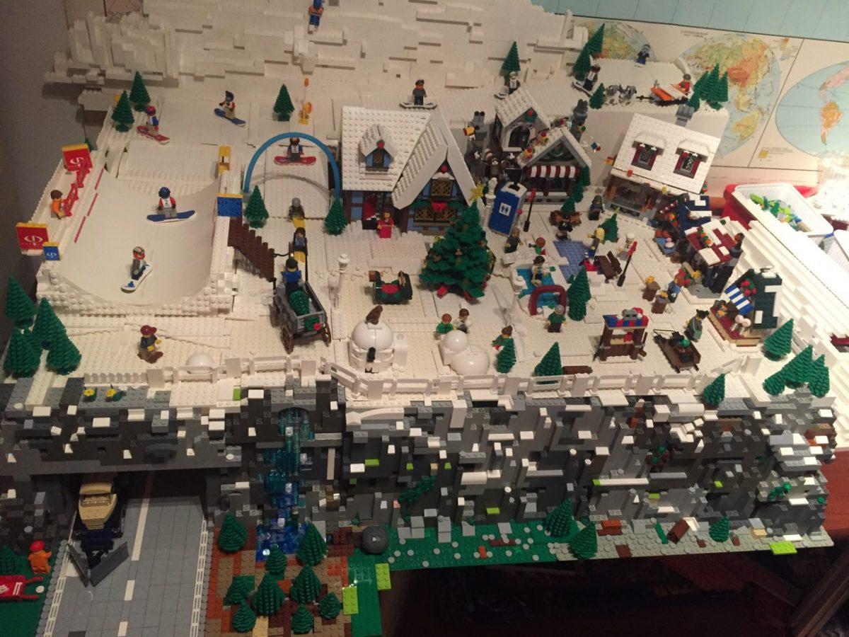 LEGO Kerstdorp van Leo Sanders