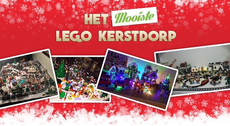 Bouwsteentjes.info LEGO Kerstdorp TOP 10 2015