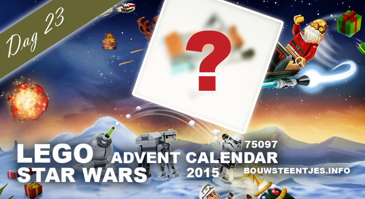 LEGO Star Wars Advent Calendar 2015 dag 23
