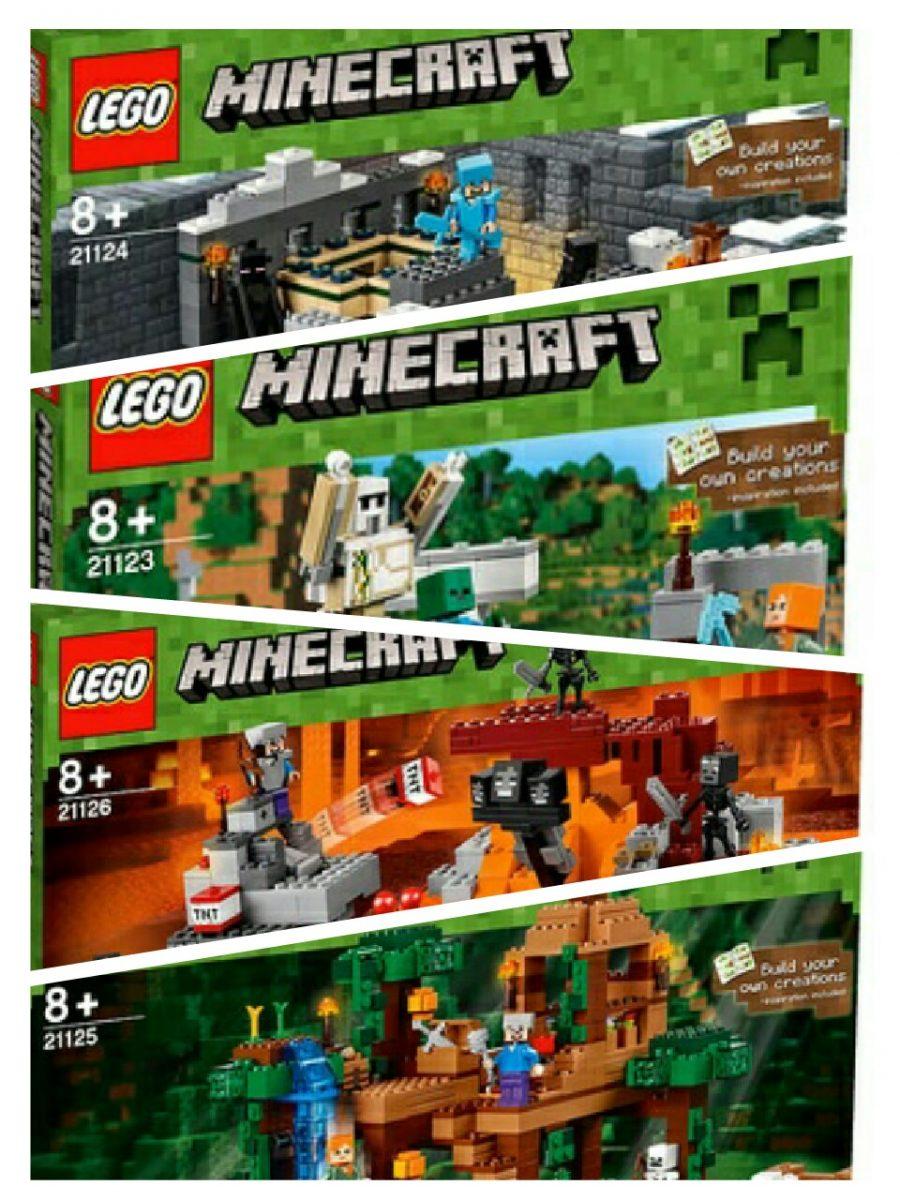 Eindelijk De Officile Box Art Van Nieuwe Lego Minecraft Sets 21124 The End Portal Het