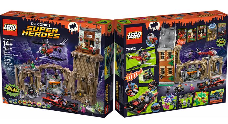 LEGO 76052 Batman Classic TV Series Batcave officieel aangekondigd ...