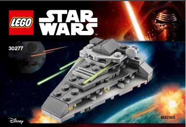 LEGO Star Wars 30277 First Order Star Destroyer polybag