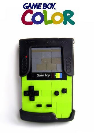 LEGO Nintendo Game Boy Color lime green