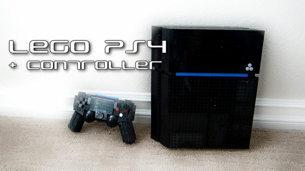 LEGO Playstation 4 + Controler door Mydifferentusername