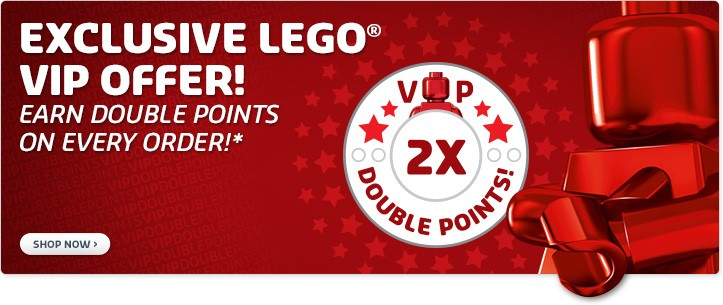 Dubbele LEGO VIP punten\