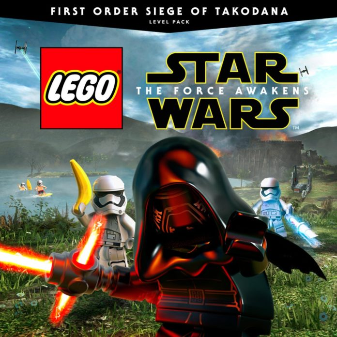 LEGO Star Wars The Force Awakens: First Order Siege of Takodana DLC ...