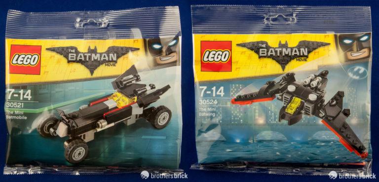 LEGO Batman movie polybags