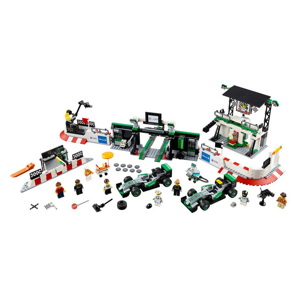 LEGO Speed Champions 75880 Mercedes Pit stop