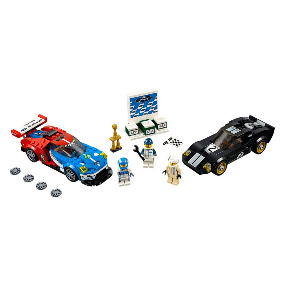 LEGO Speed Champions 75881 Gord GT 2016 & Ford GT40 1966