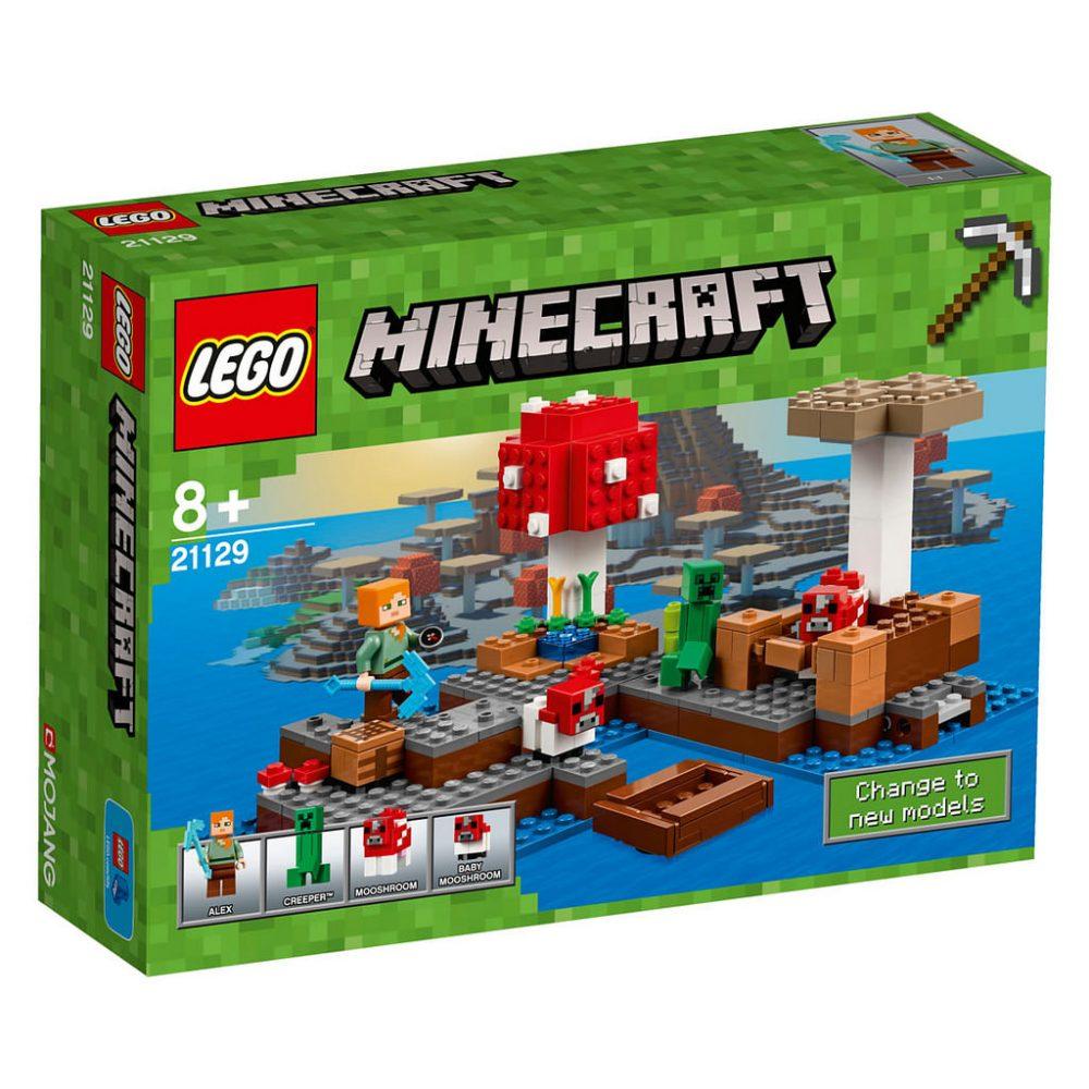 LEGO Minecraft 21129 Mushroom Island