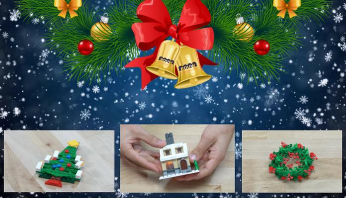 LEGO Creator Holiday DIY tutorials