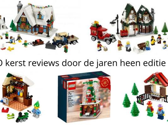 LEGO kerst reviews door de jaren heen editie 2016