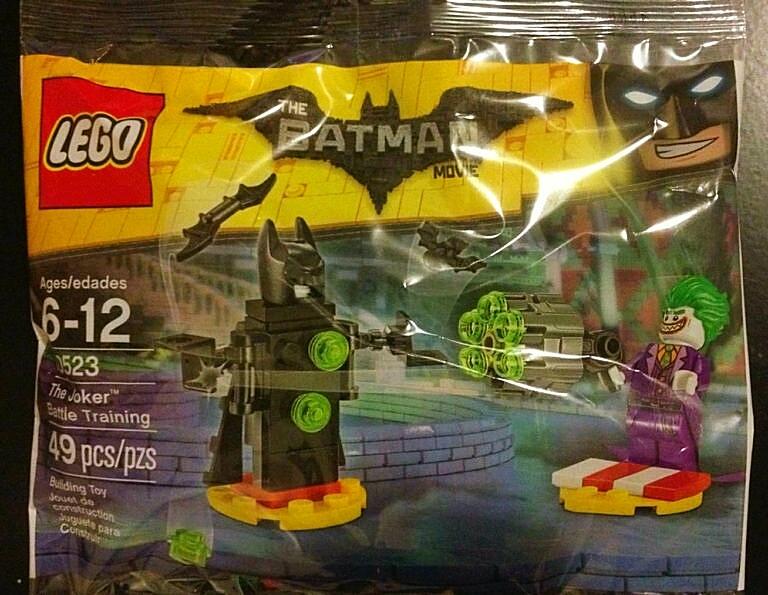 LEGO The LEGO Batman Movie 30523 The Joker Battle Training
