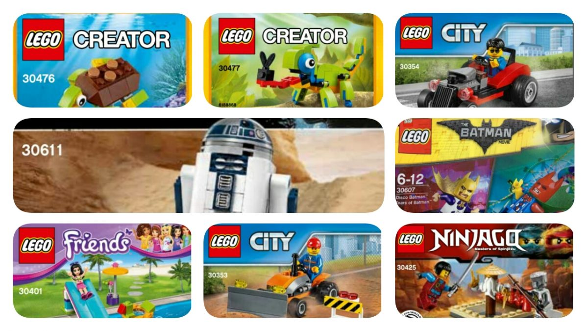LEGO Polybags 2017