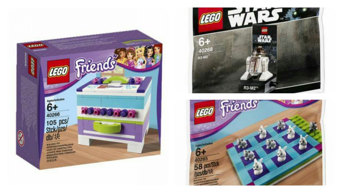 LEGO Promotions 2017