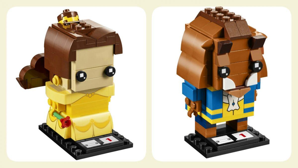 LEGO Brickheadz Belle and the Beast