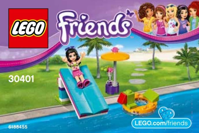LEGO Friends 30401 Pool Foam Slide