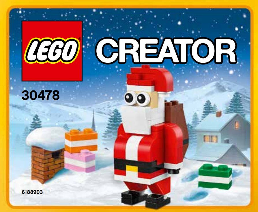 LEGO Creator 30478 Jolly Santa
