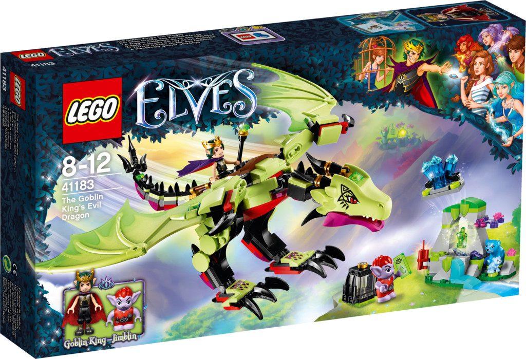 LEGO Elves 41183 The Goblin King's Evil Dragon