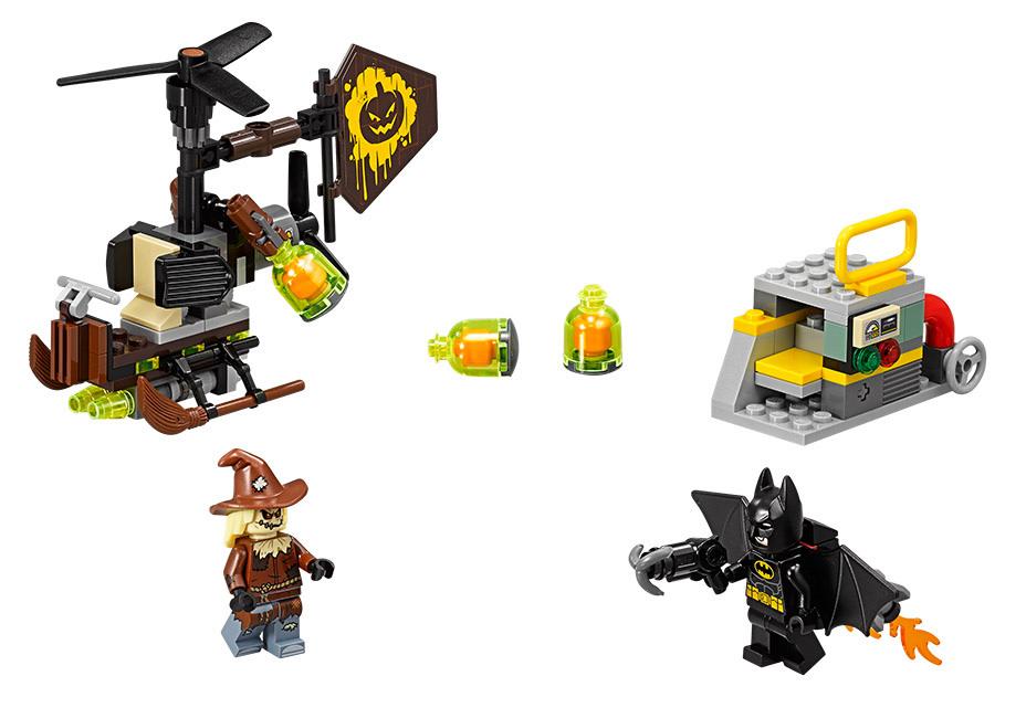 The LEGO Batman Movie 70913 Scarecrow's Gyrocopter