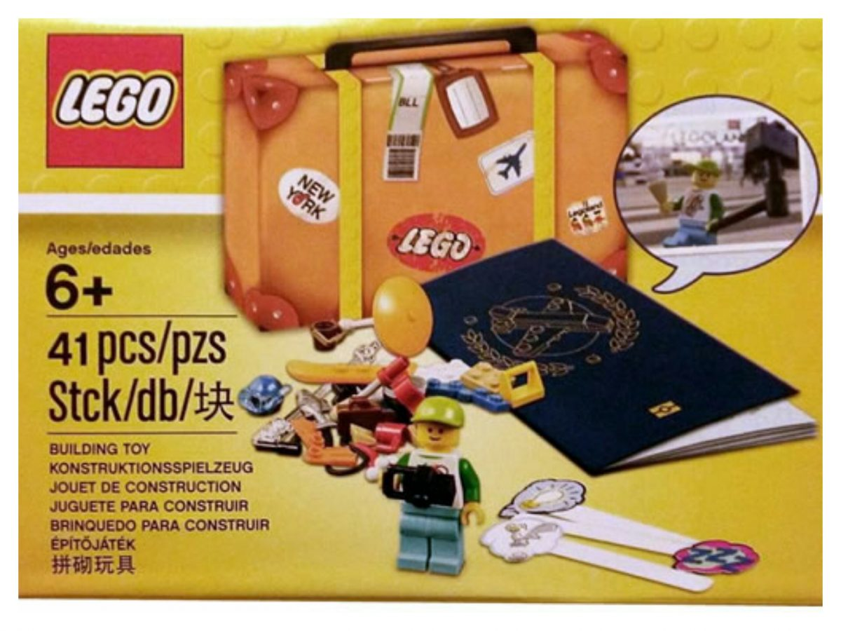 LEGO 5004932 Travel Building Suitcase