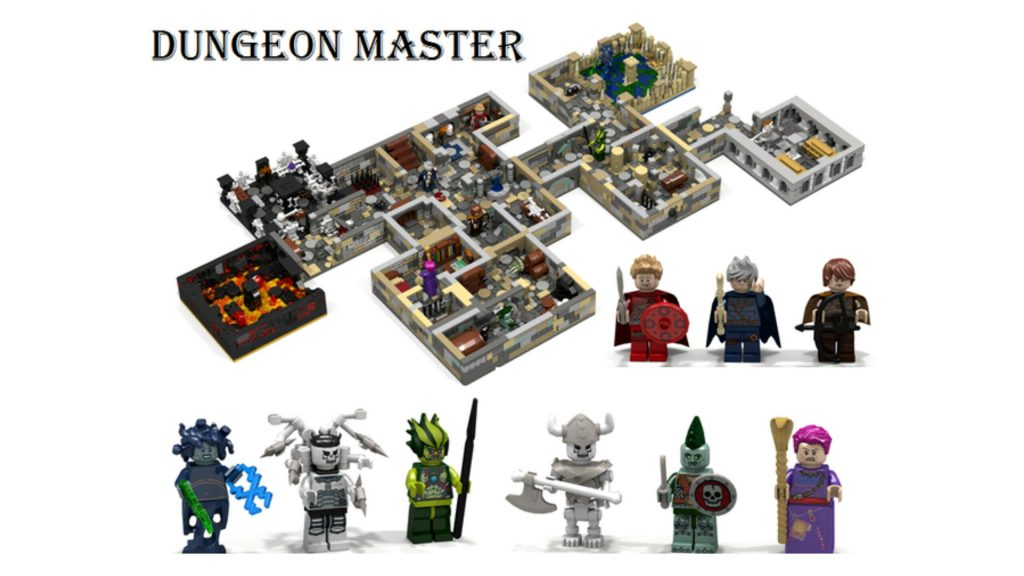 LEGO Ideas: Dungeon Master