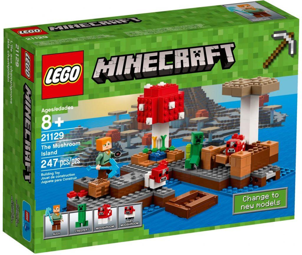 LEGO Minecraft 21129 The Mushroom Island
