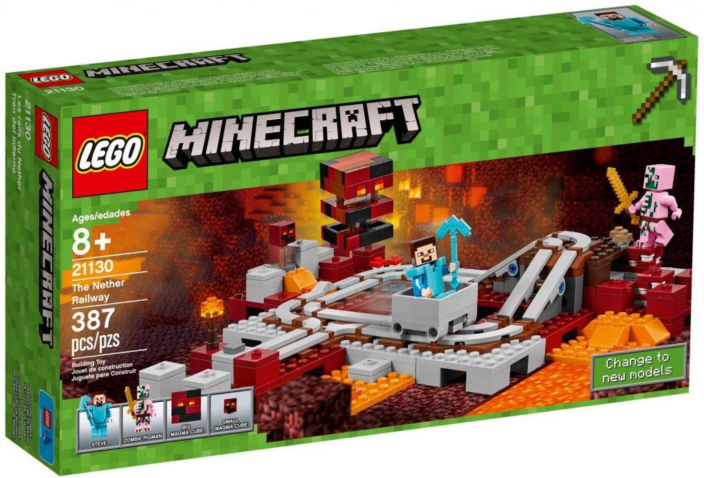 LEGO Minecraft 21130 The Nether Railway