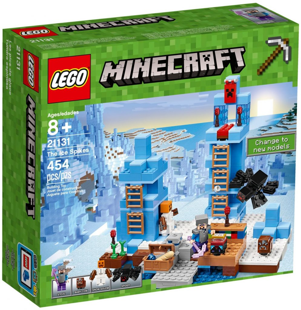 LEGO Minecraft 21131 The Ice Spikes