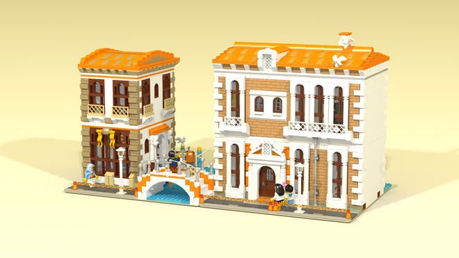 LEGO Ideas: Venetian Houses