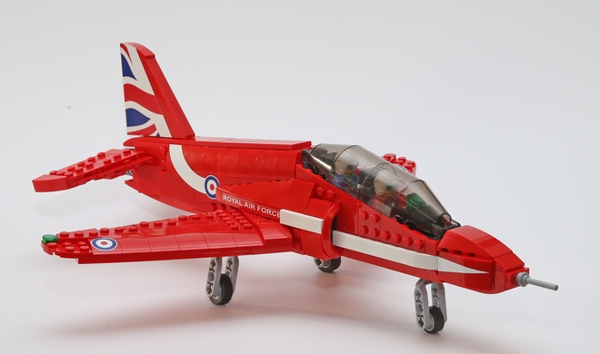 LEGO Ideas: Red Arrows Hawk
