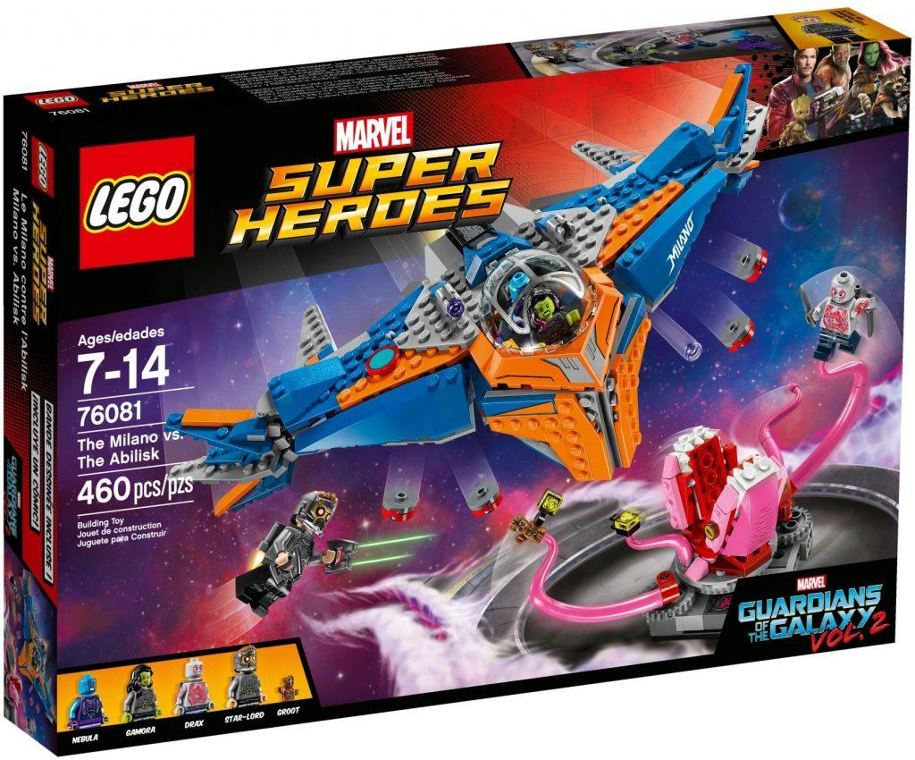 LEGO Marvel 76081 The Milano vs. The Abilisk