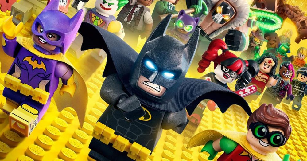 The LEGO Batman Movie Header