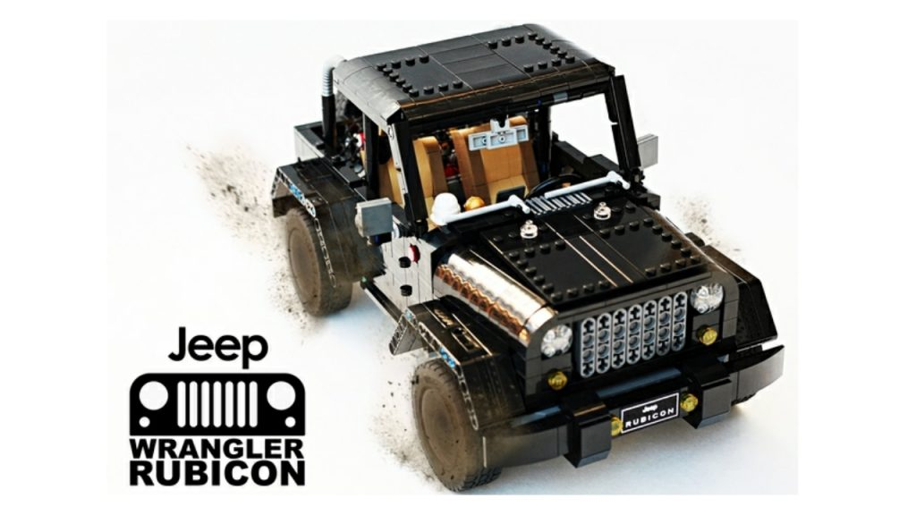LEGO Ideas: Jeep Wrangler Rubicon