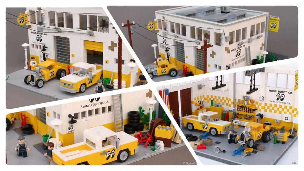 LEGO MOC: MOONEYES Headquarters