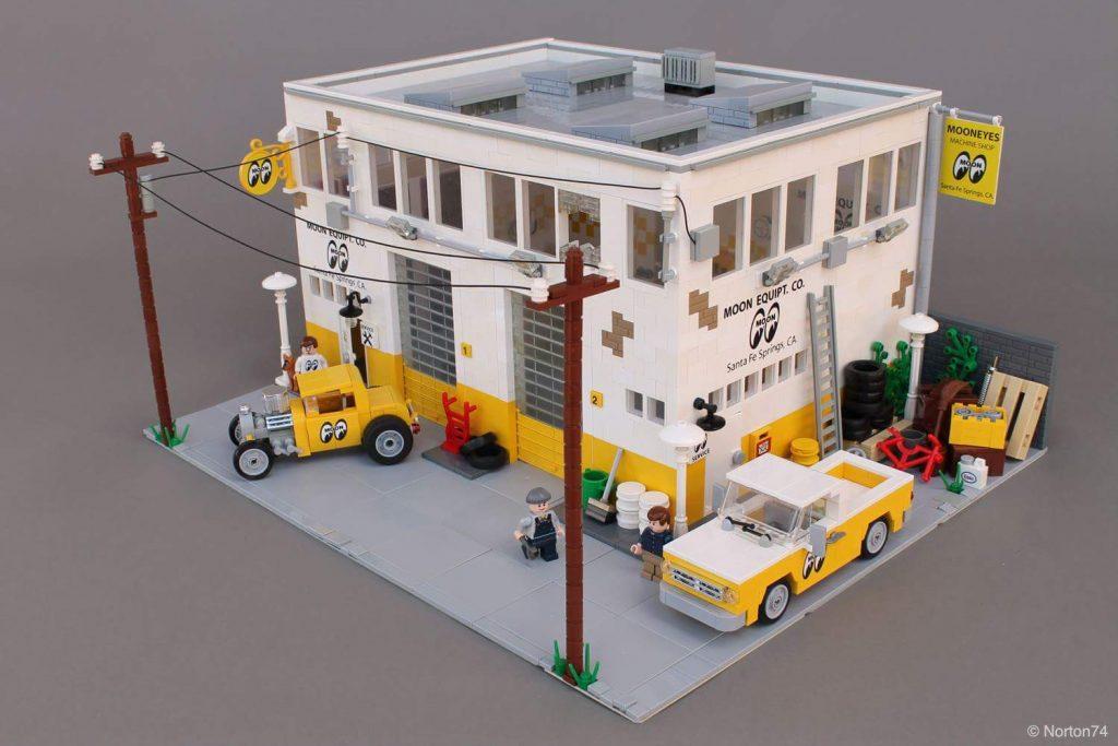 LEGO Mooneyes Headquarters MOC