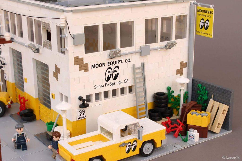 LEGO Mooneyes Headquarters MOC\