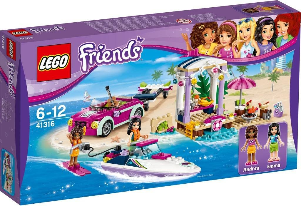 LEGO Friends 41316 Andreas Speed Boat Transporter