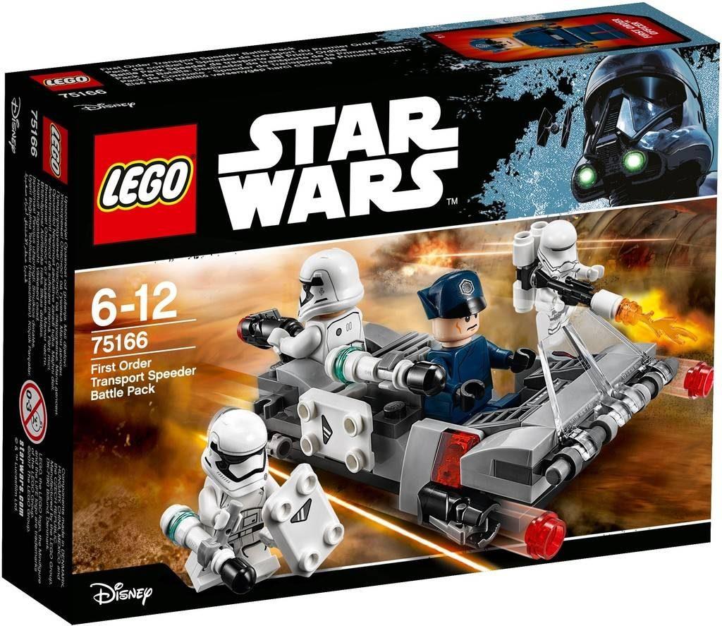 LEGO Star Wars 75166 First Order Speeder battle Pack