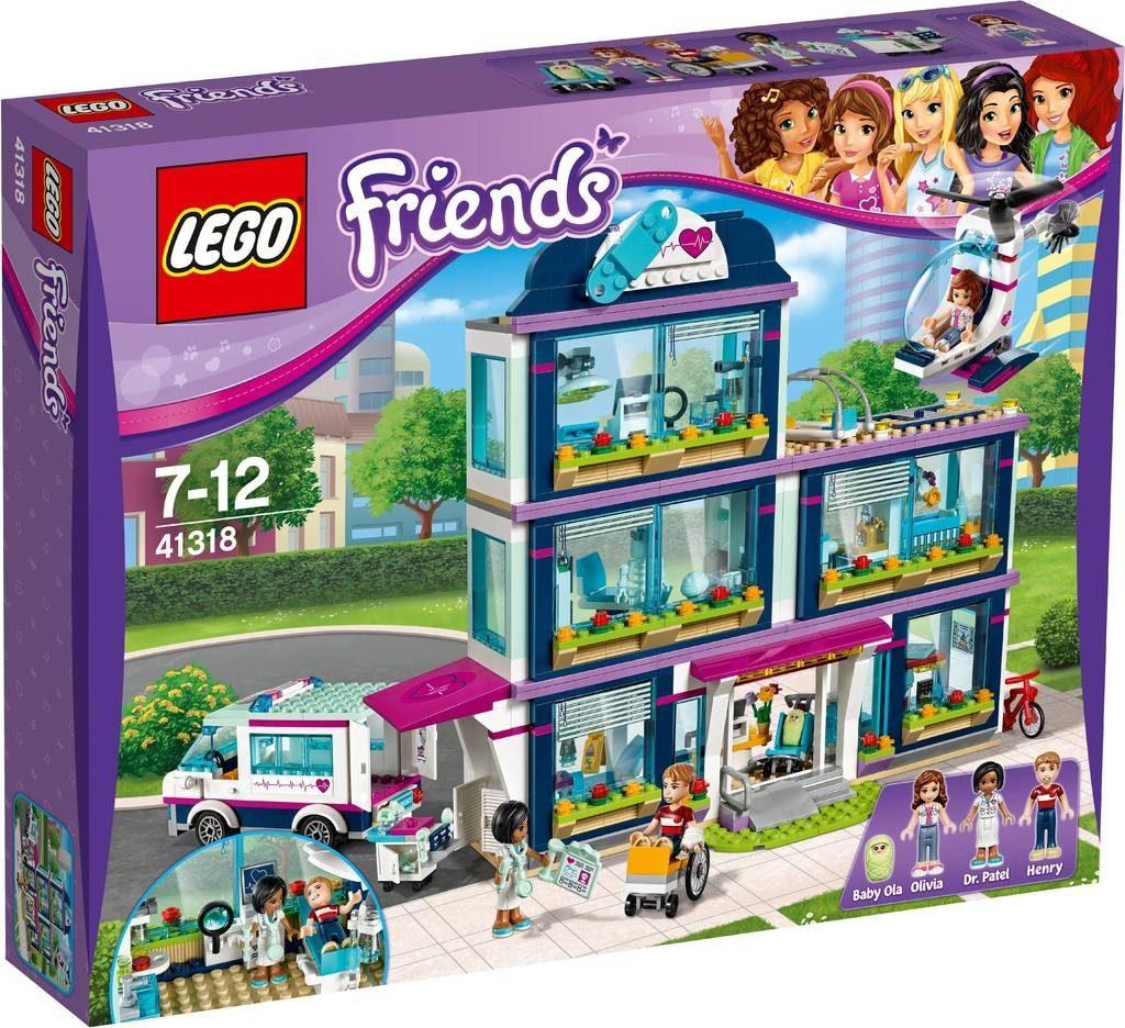 LEGO Friends 41318 Heartlake Hospital