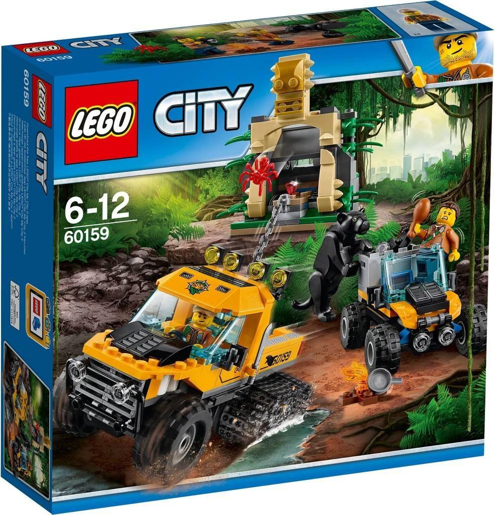 LEGO City 60159 Jungle Halftrack Mission