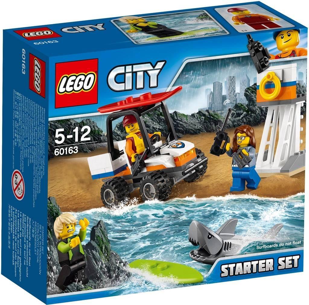 LEGO City 60163 Coastguard Starter Set