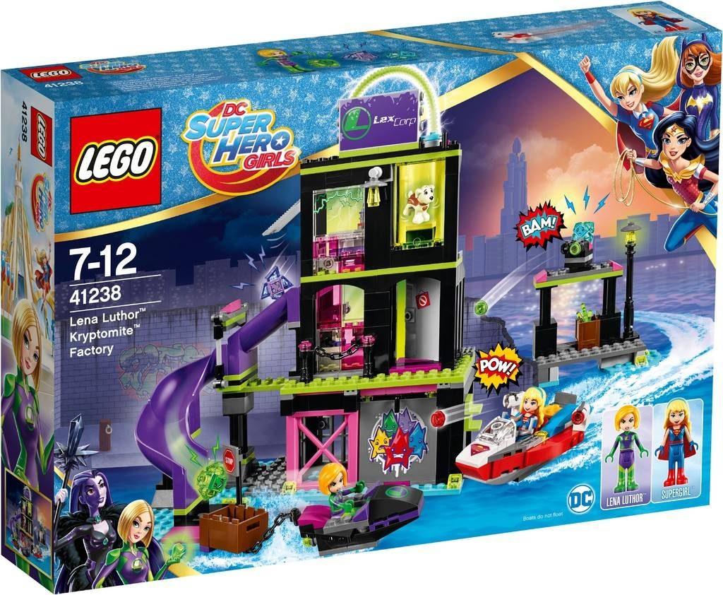 LEGO DC Superhero Girls 41238 Lena Luthor Kryptomite Factory