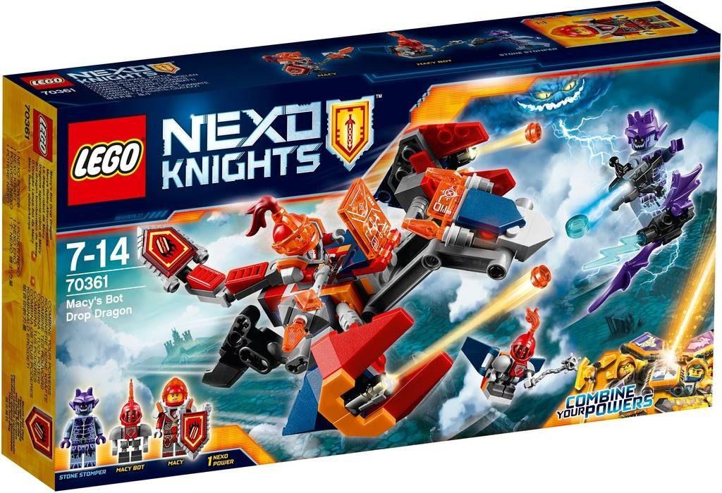 LEGO Nexo Knights 70361 Macy's Bot Drop Dragon