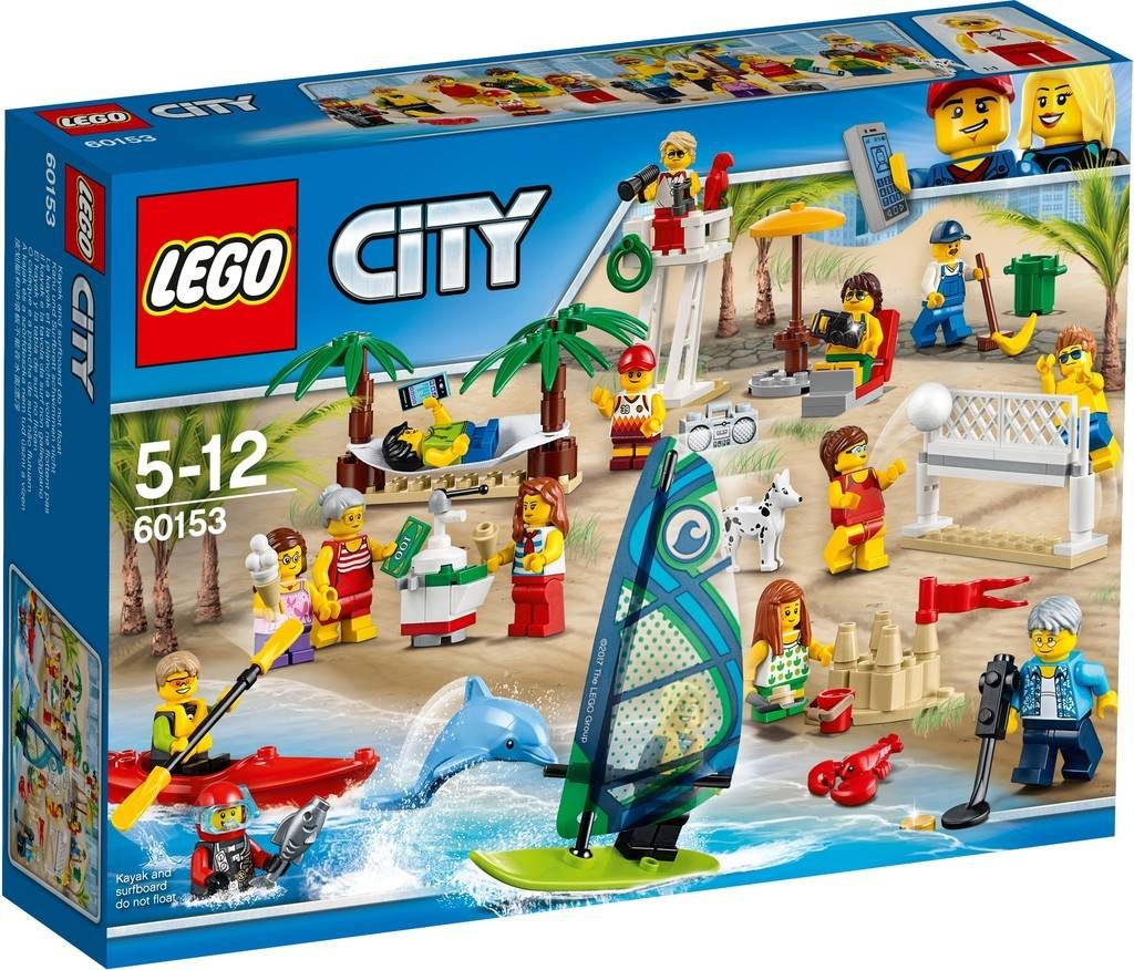LEGO City 60153 Fun at the Beach (People set)