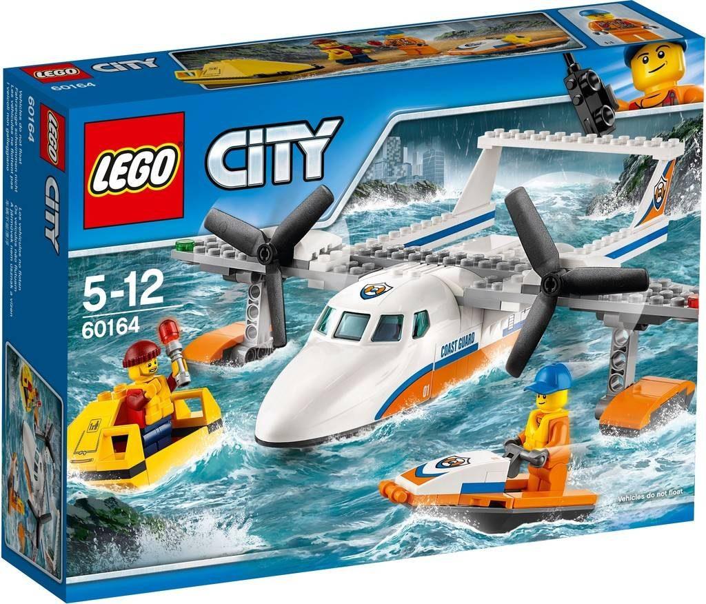 LEGO City 60164 Sea Rescue Plane