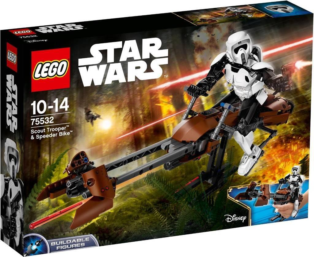 LEGO Star Wars 75532 Scout Trooper & Speederbike